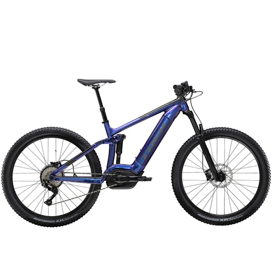Trek Powerfly FS 5 (purpurová) 2020