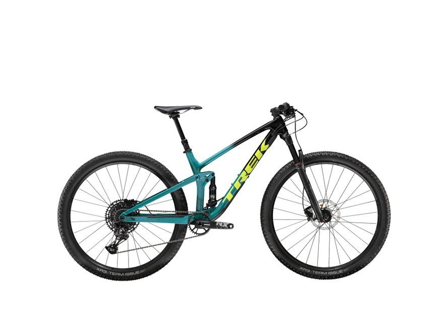 Trek Top Fuel 9.7 2021 (Trek Black to Teal Fade)