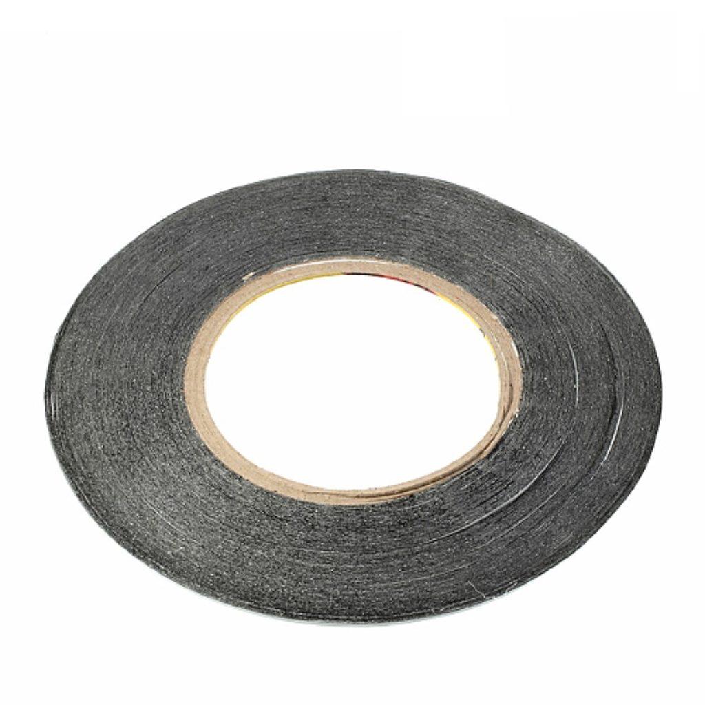 Oboustranná lepící páska 3M černá 50m x 1mm kotouč