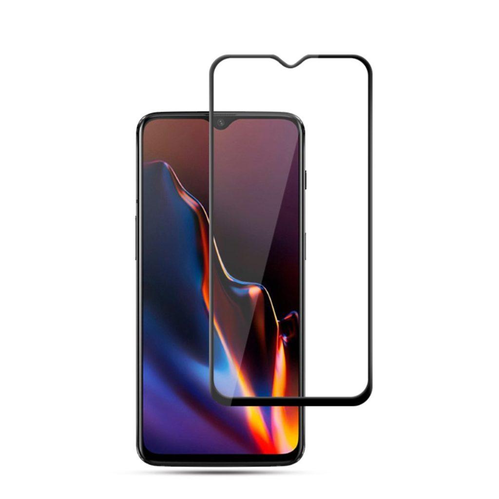 Oneplus 7 Ochranné tvrzené sklo na displej 5D černé