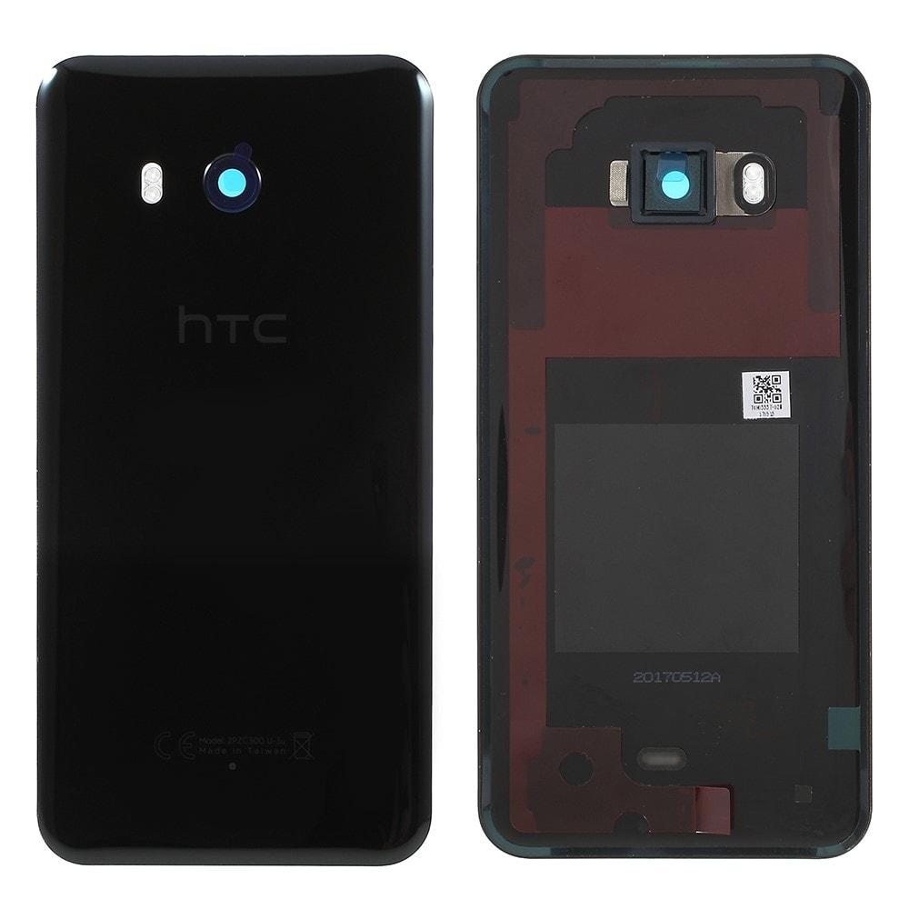 HTC U11+ Plus Zadní kryt baterie černý