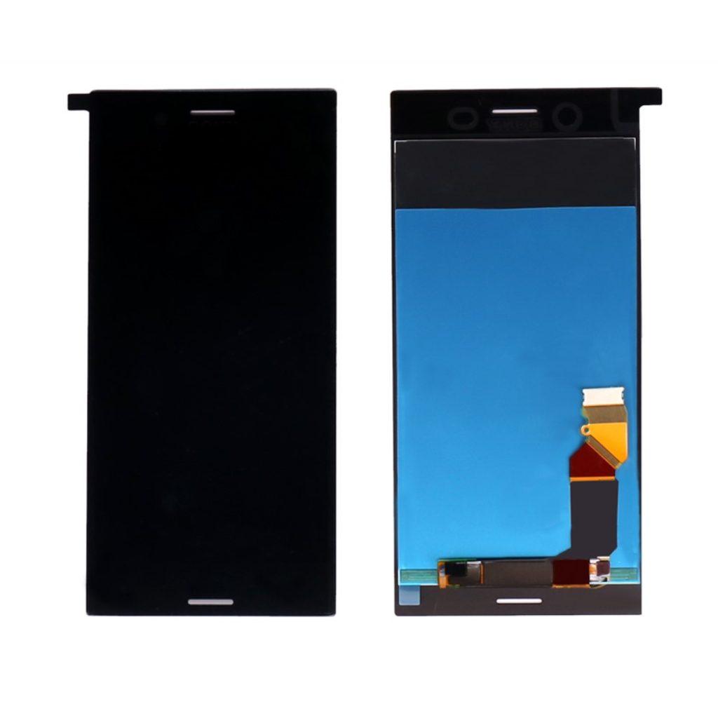 Sony Xperia XZ Premium LCD displej dotykové sklo komplet přední panel černý G8142