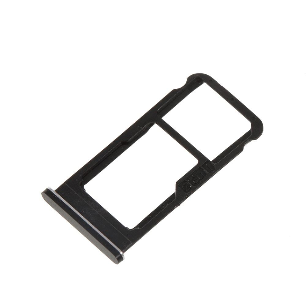 Nokia 6.1 2018 šuplík na SIM SD kartu černý