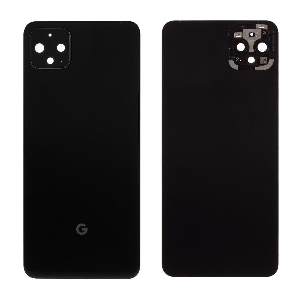 Google Pixel 4 XL zadní kryt baterie černý včetně krytky čočky fotoaparátu