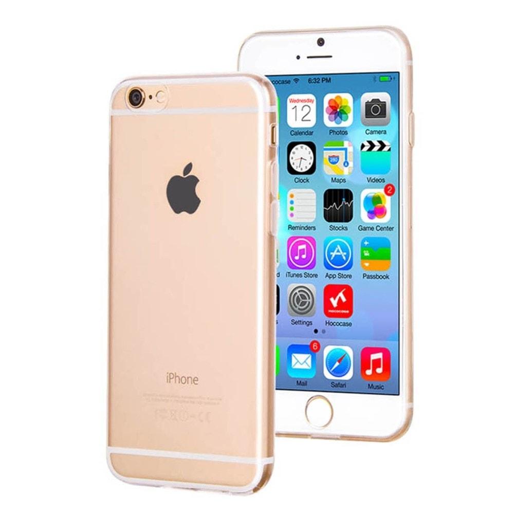 Apple iPhone 6 6S silikonový transparentní kryt