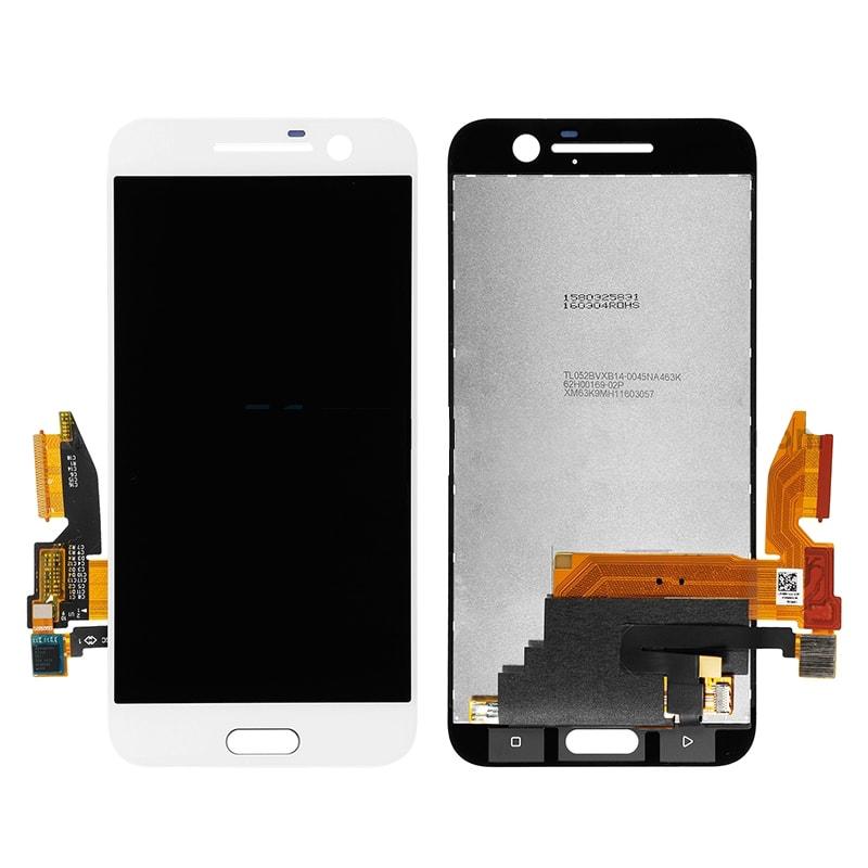 HTC 10 LCD displej bílý dotykové sklo komplet