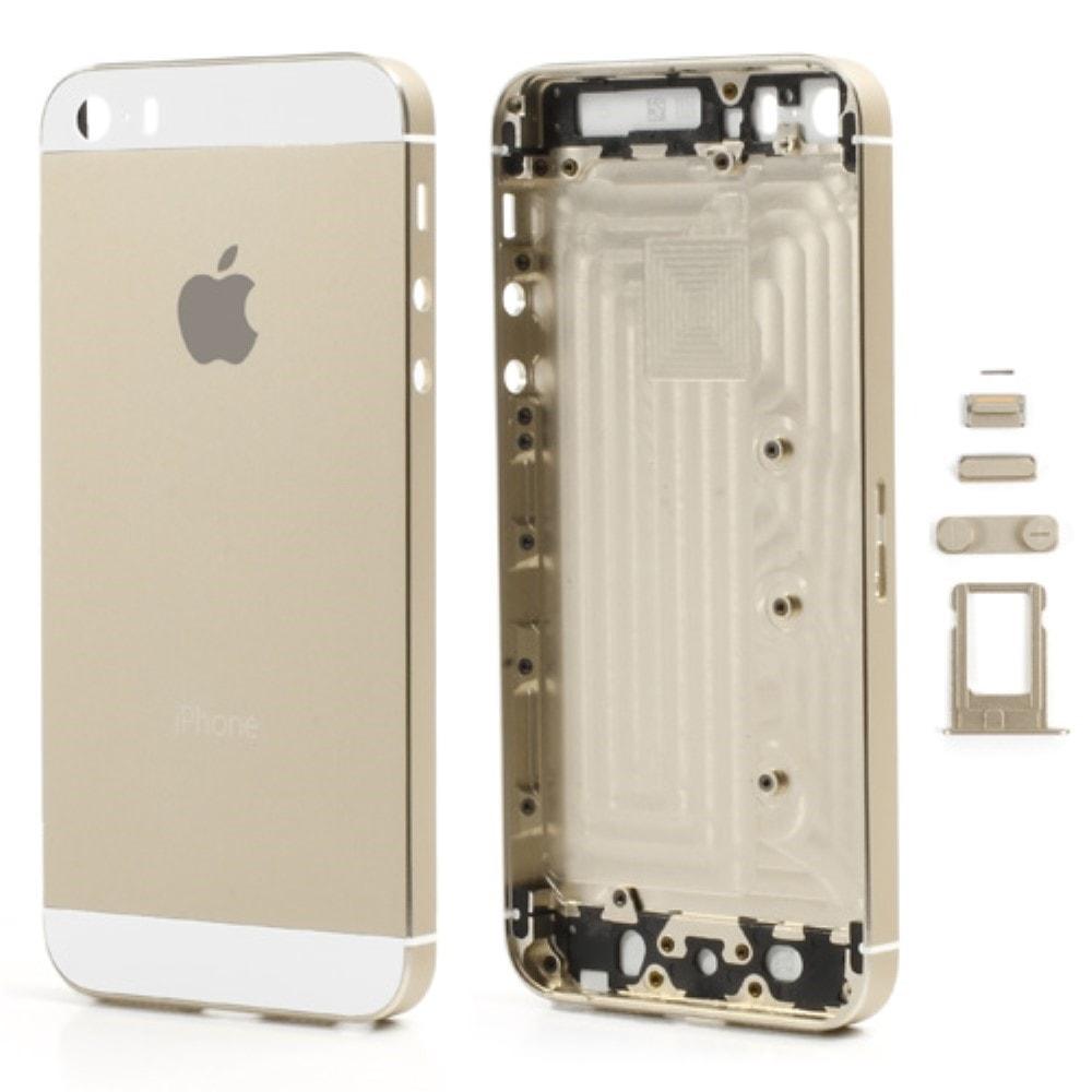 Apple iPhone 5S zadní kryt baterie zlatý champagne