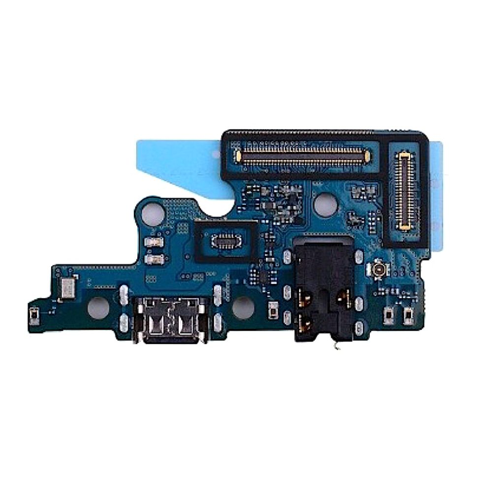Samsung Galaxy A70 nabíjecí USB-C konektor napájecí port mikrofon 3,5mm audio jack SUB
