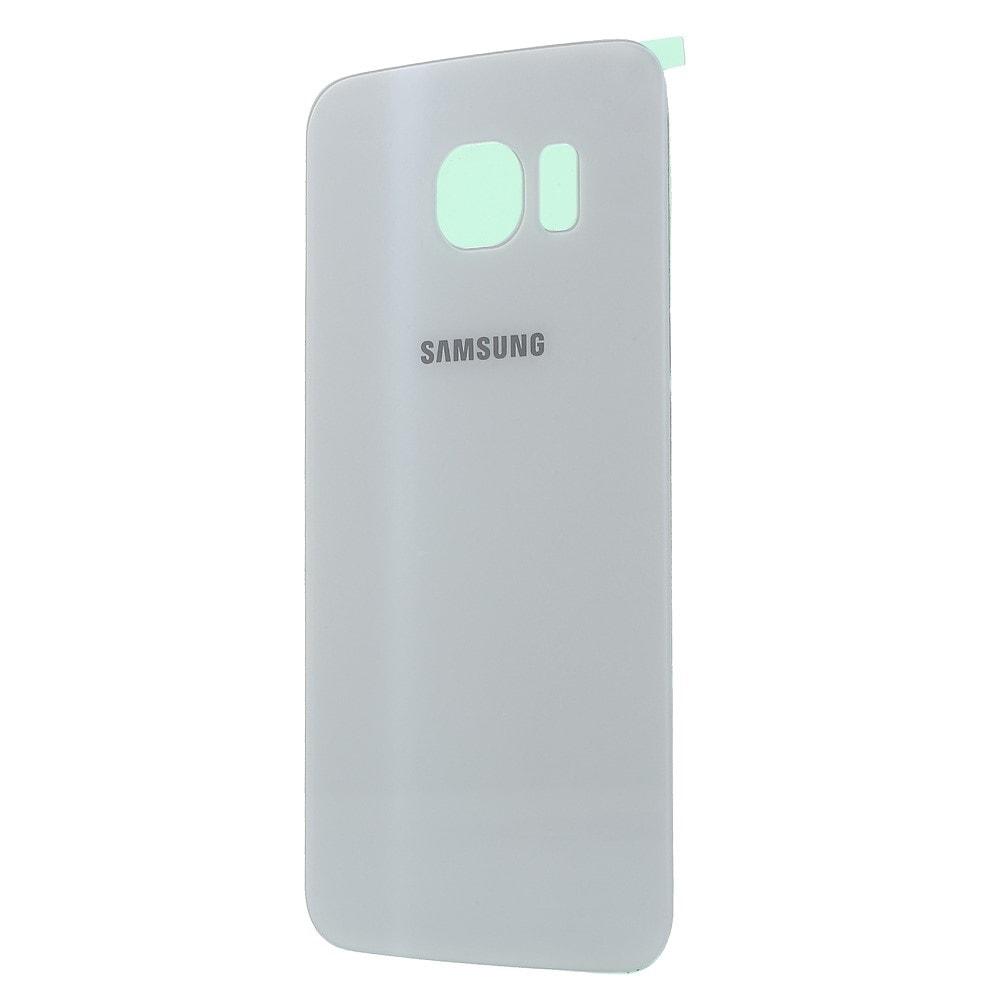 Samsung Galaxy S6 Edge zadní kryt baterie bílý G925F