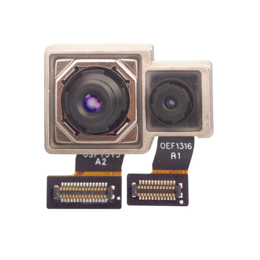 Xiaomi Redmi Note 7 zadní modul kamery duální fotoaparát