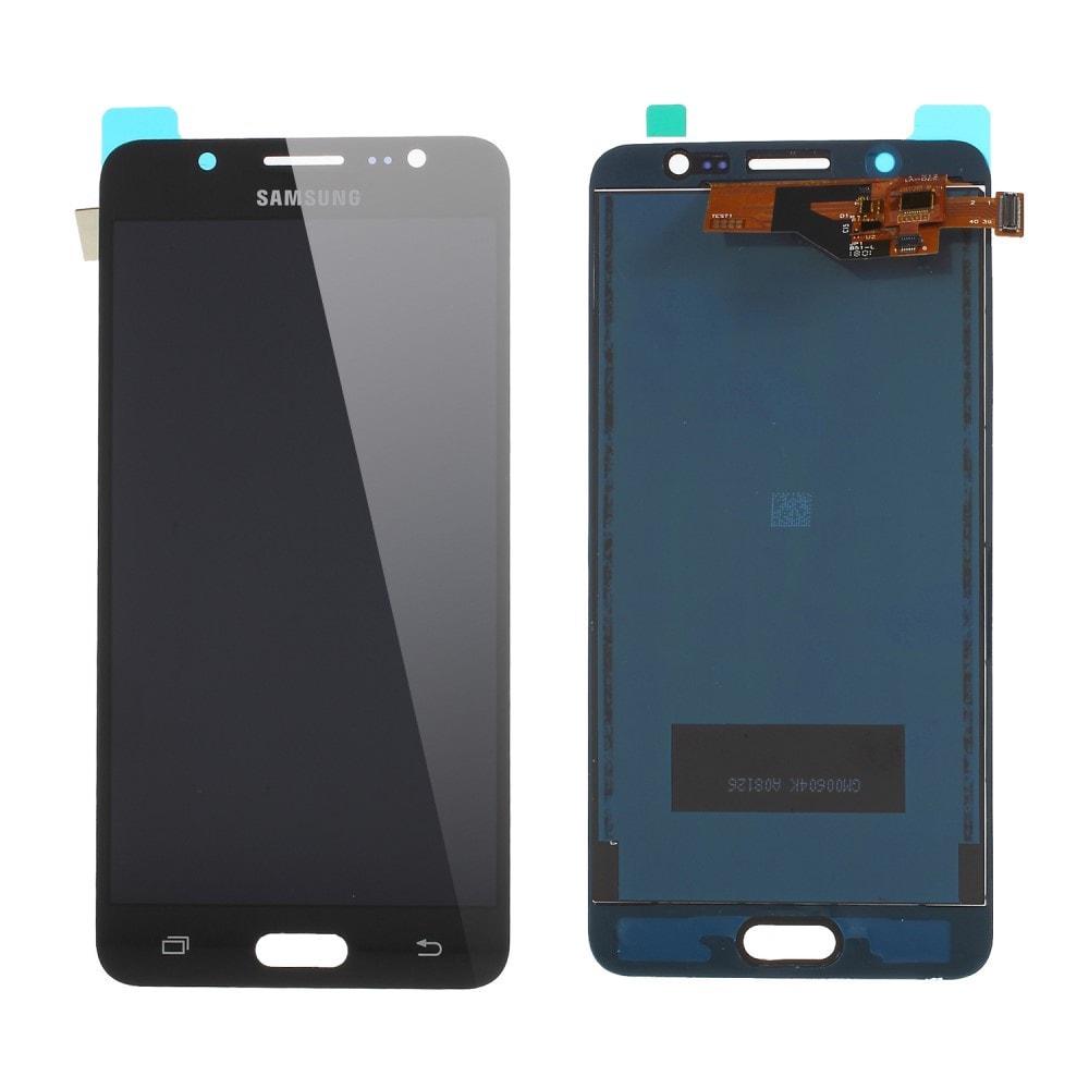 Samsung Galaxy J5 2016 LCD TFT displej dotykové sklo černé J510