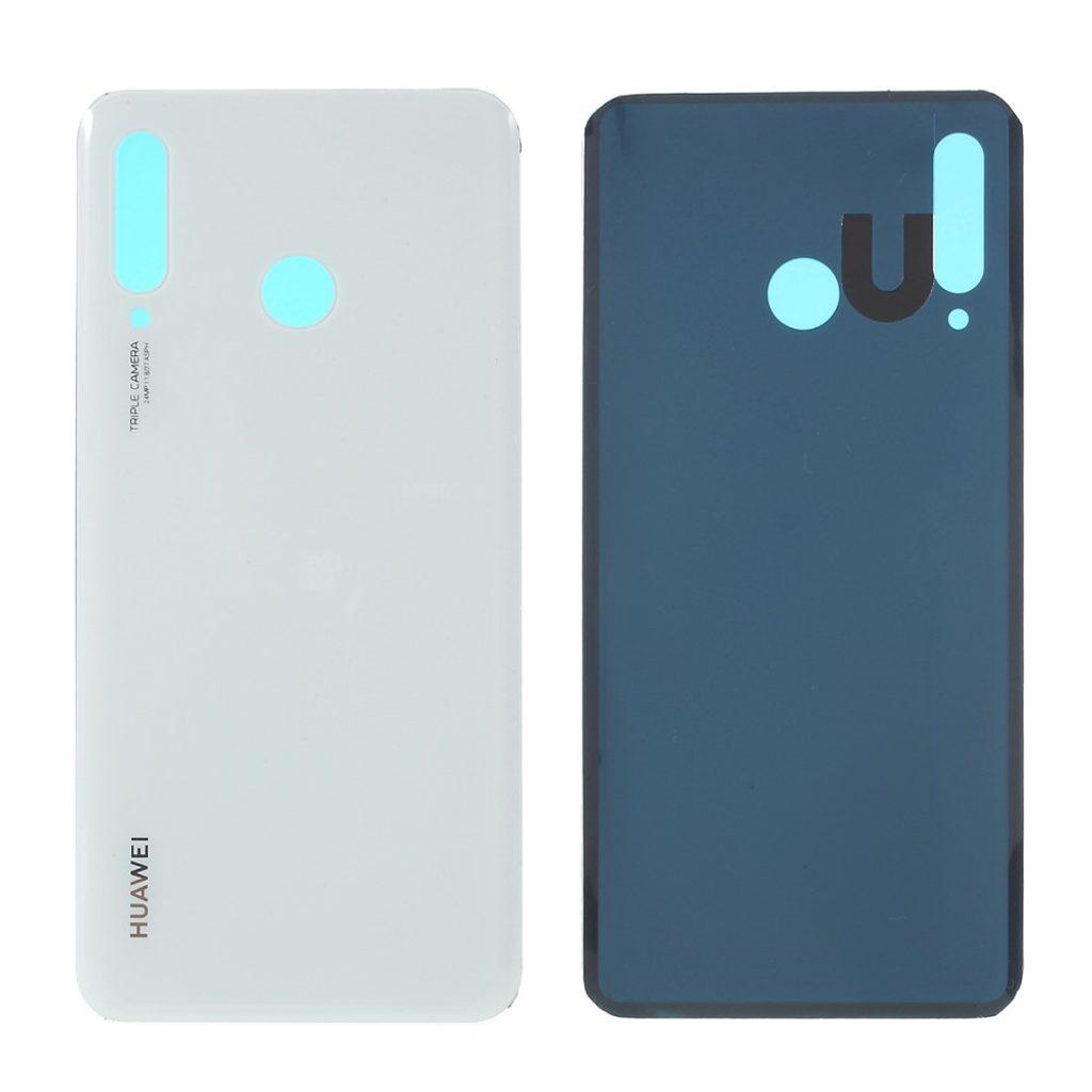 Huawei P30 Lite zadní kryt baterie bílý (MAR-L01A, MAR-L21A, MAR-LX1A)