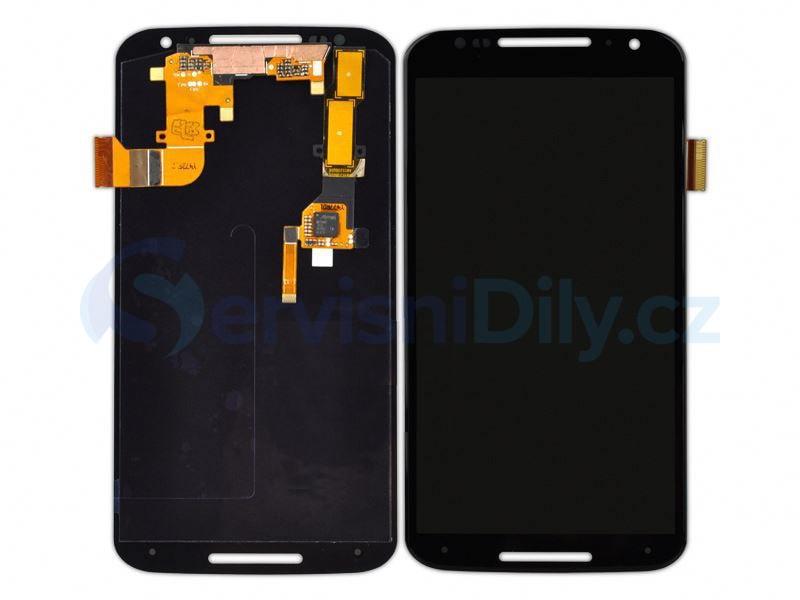Motorola Moto X+1 X2 LCD displej černý + dotykové sklo XT1092 XT1095 XT1097