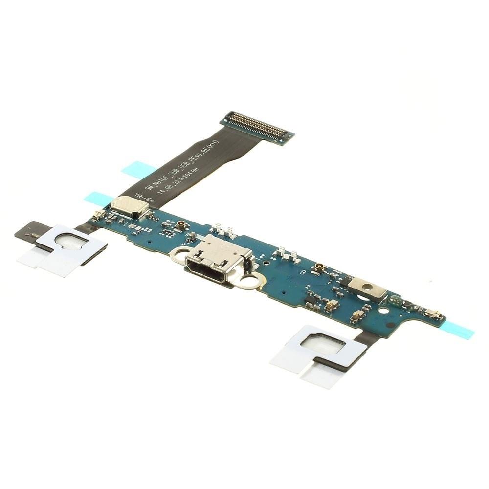 Samsung Galaxy Note 4 napájecí konektor port nabíjení dock flex N910F