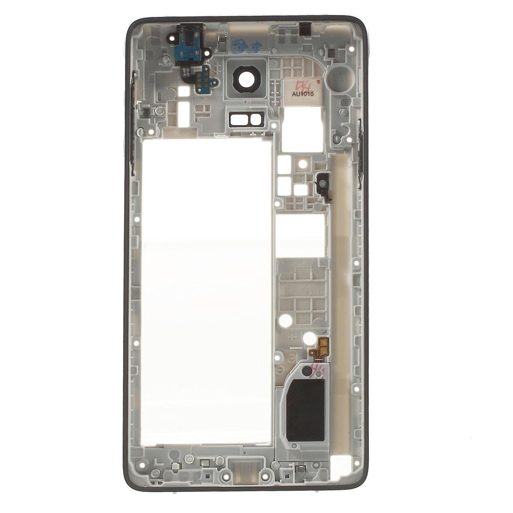 Samsung Galaxy Note 4 střední kryt rámeček LCD černý N910F