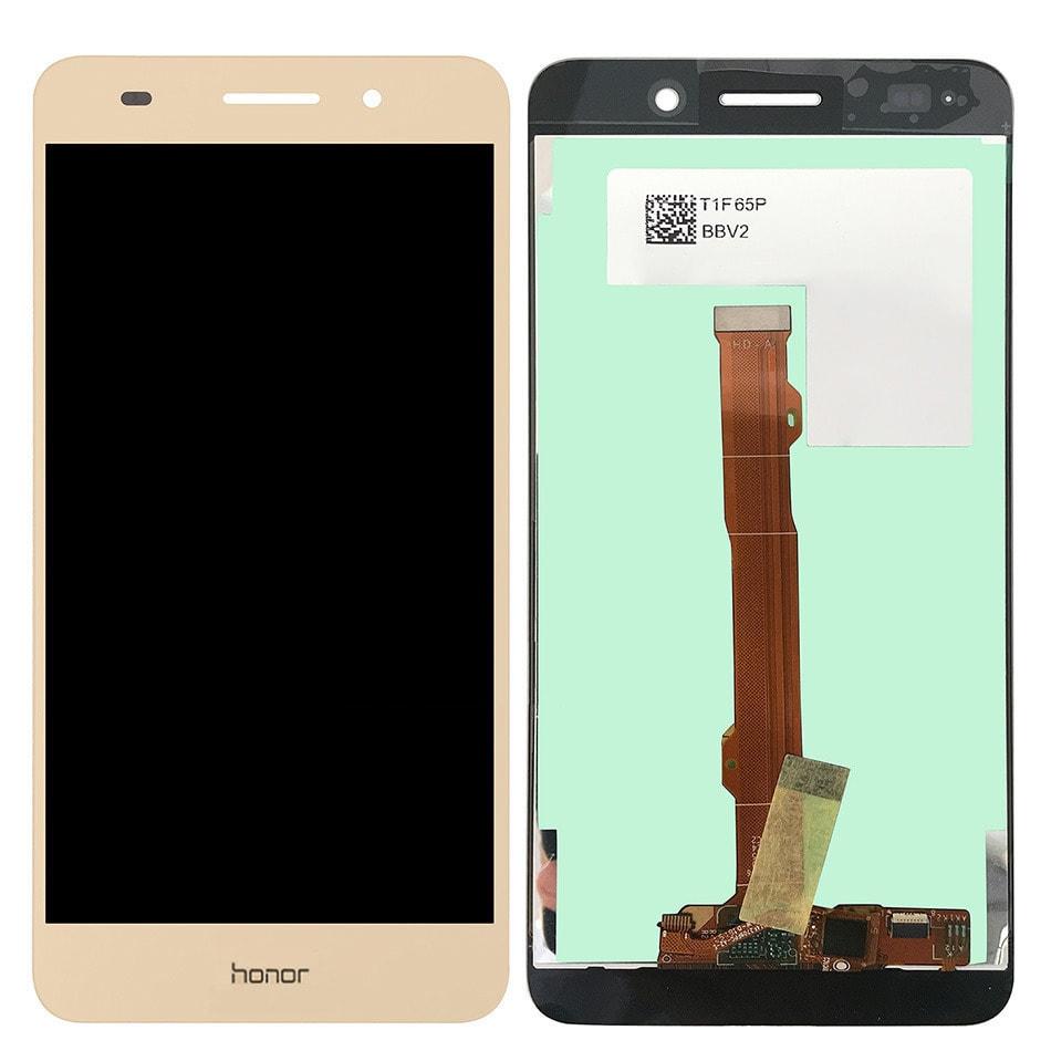 Honor 5A / Huawei Y6 II LCD displej zlatý + dotykové sklo