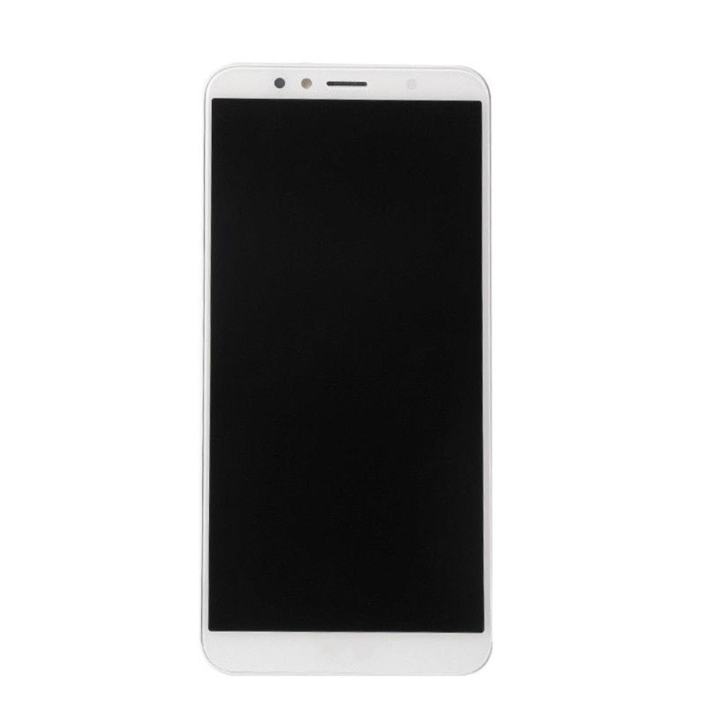 Honor 7A LCD displej dotykové sklo komplet přední panel bílý včetně rámečku