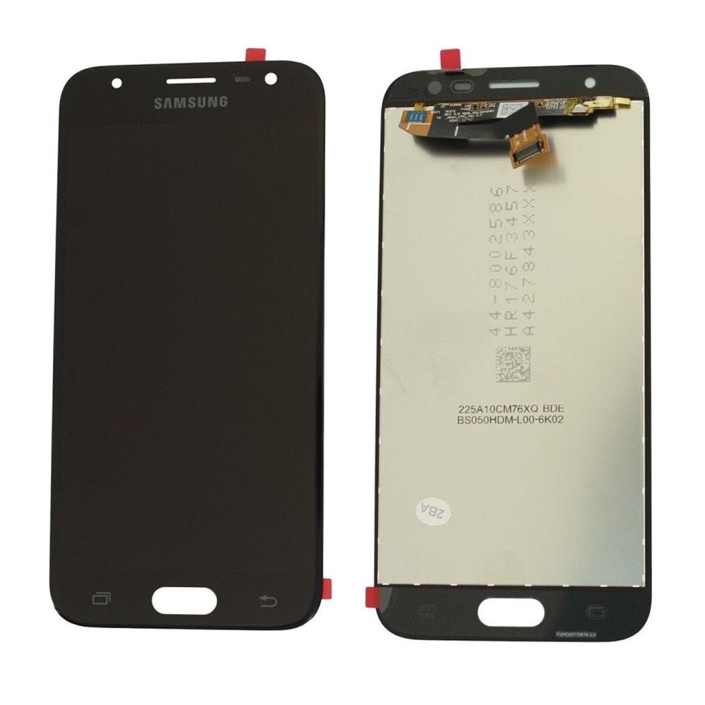 Samsung Galaxy J3 2017 LCD displej dotykové sklo černé J330 / J330F