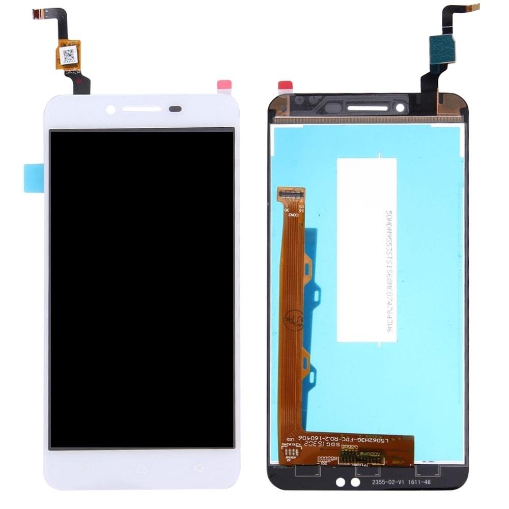 Lenovo Vibe K5 LCD displej bílý dotykové sklo komplet přední panel A6020