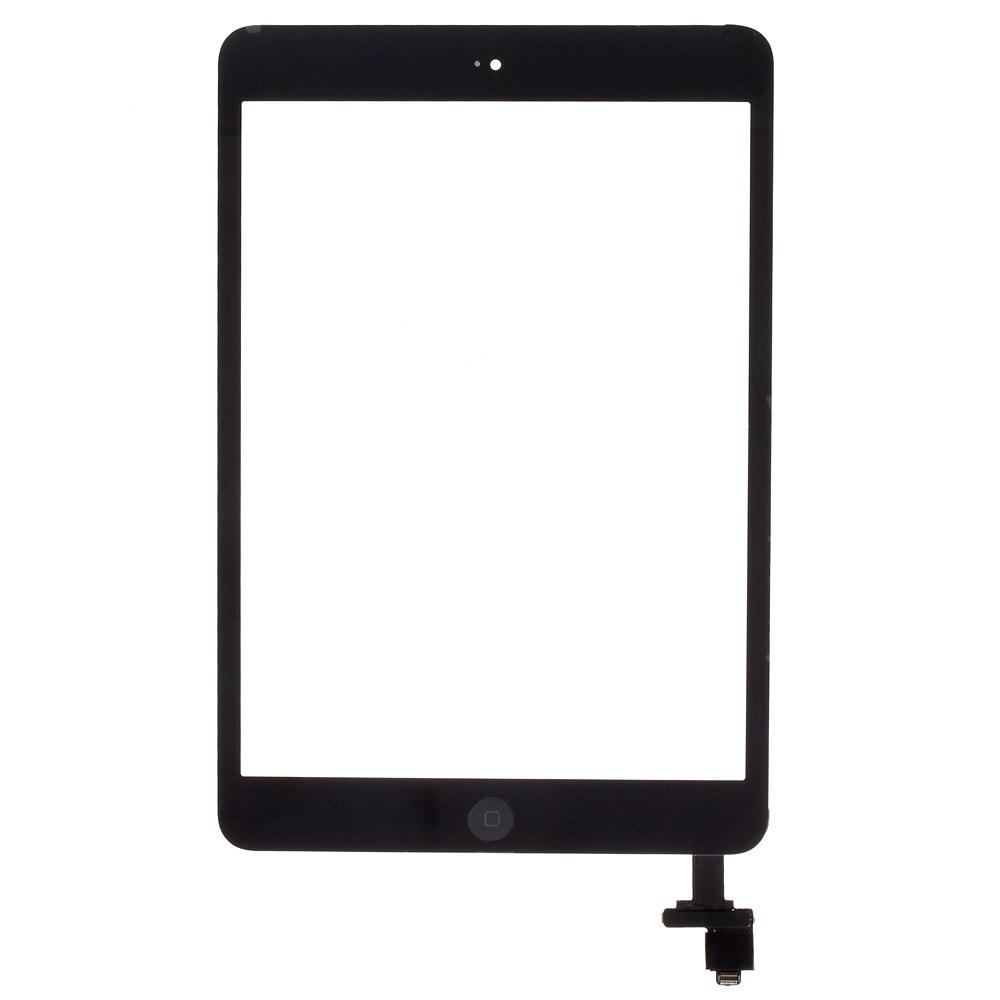 Apple iPad mini 1 / 2 dotykové sklo černé IC čip