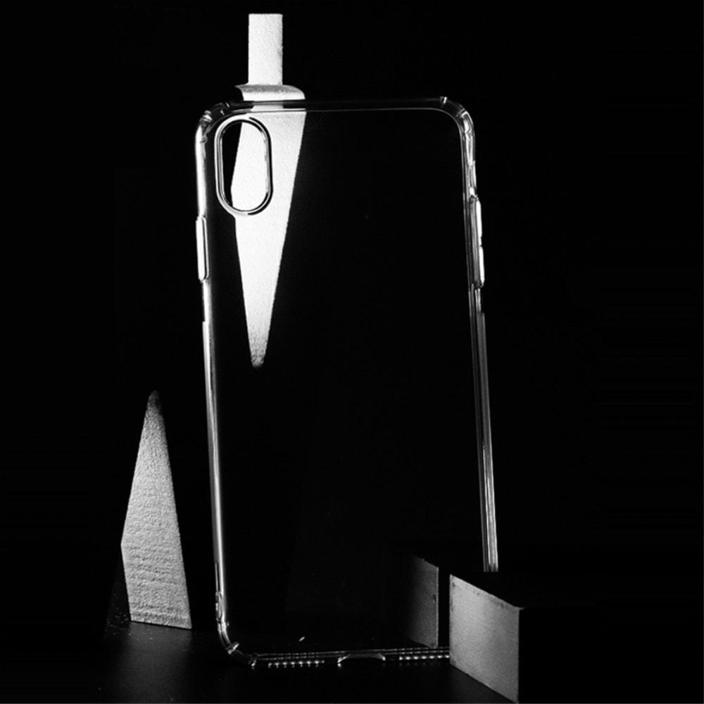 Apple iPhone XS Max silikonový transparentní obal