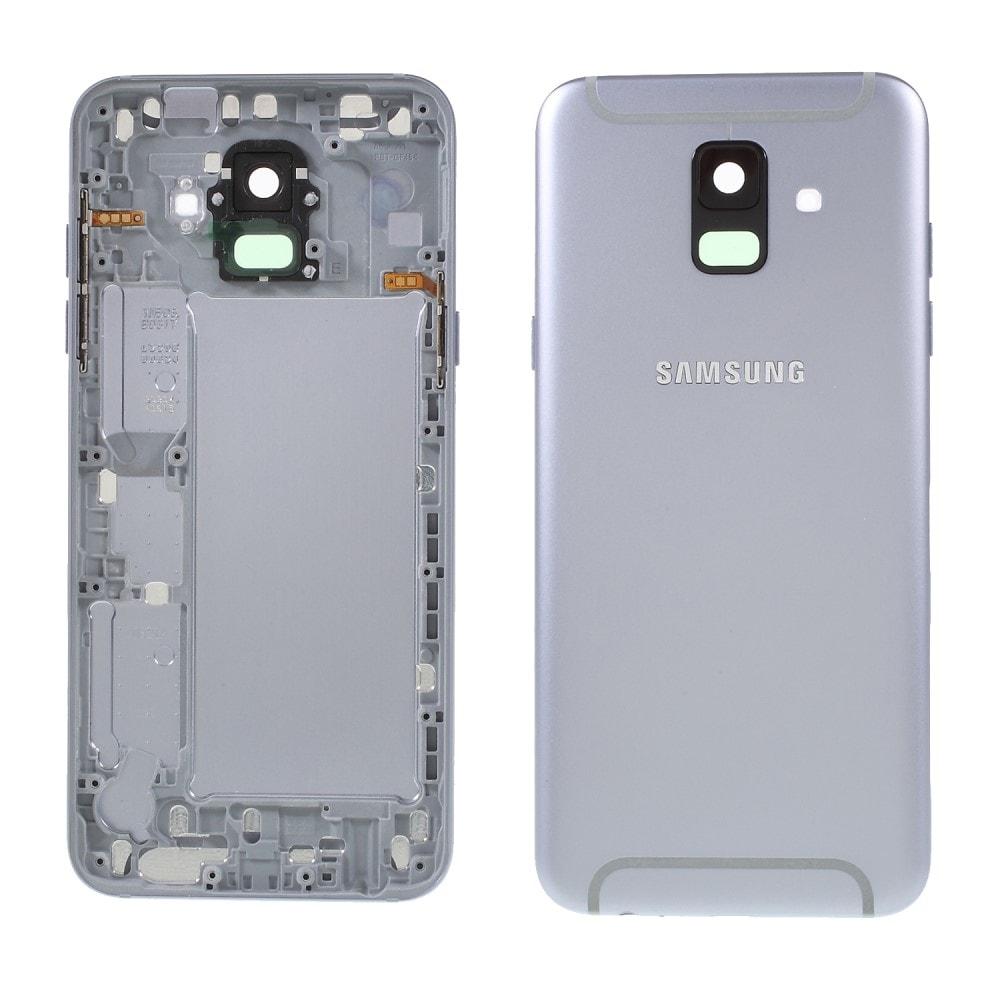 Samsung Galaxy A6 2018 zadní kryt baterie stříbrný šedý A600