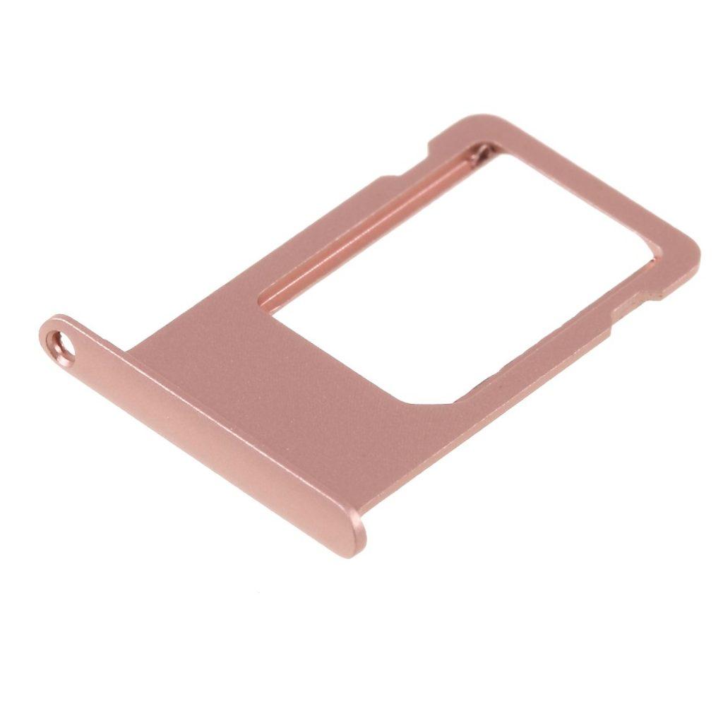 Apple iPhone 6S Plus šuplík SIM rose gold - růžová