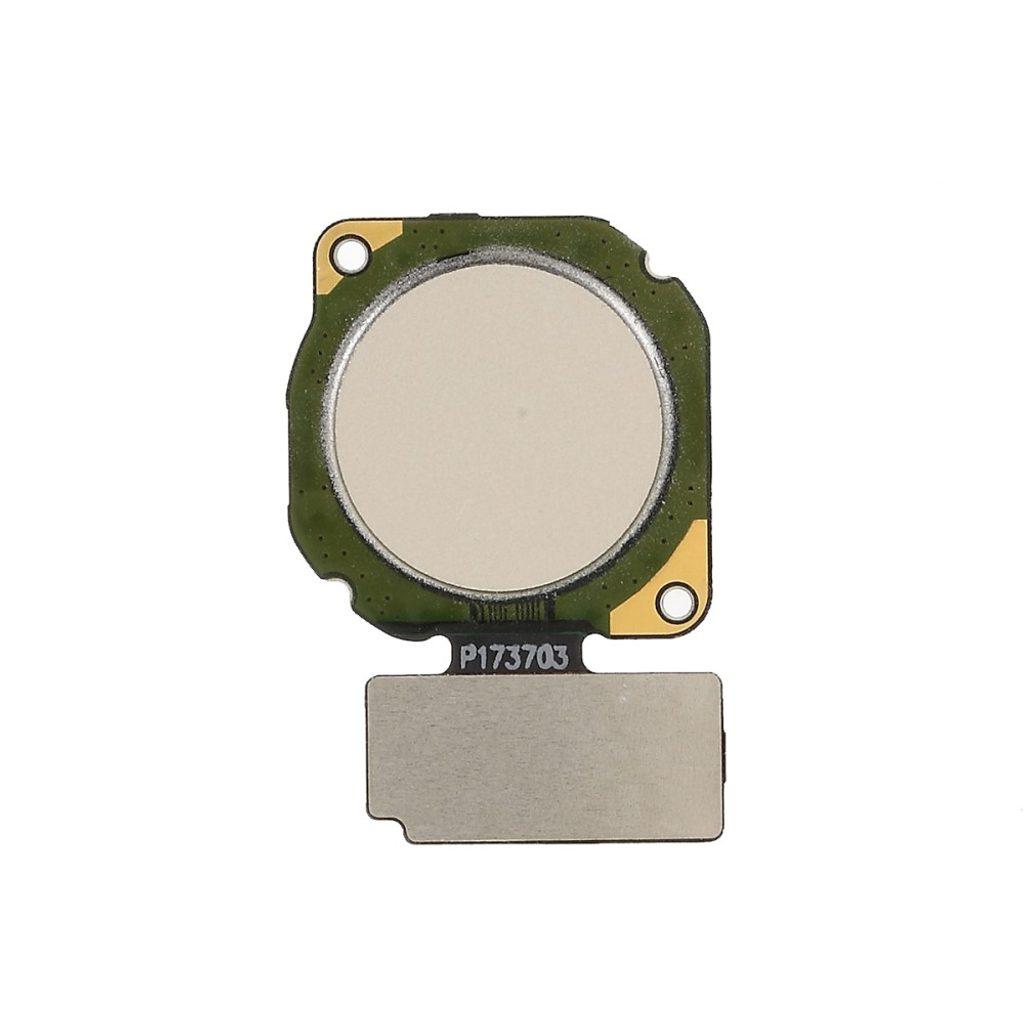 Huawei Mate 10 lite / 20 Lite / P smart čtečka otisku prstů flex zlatý