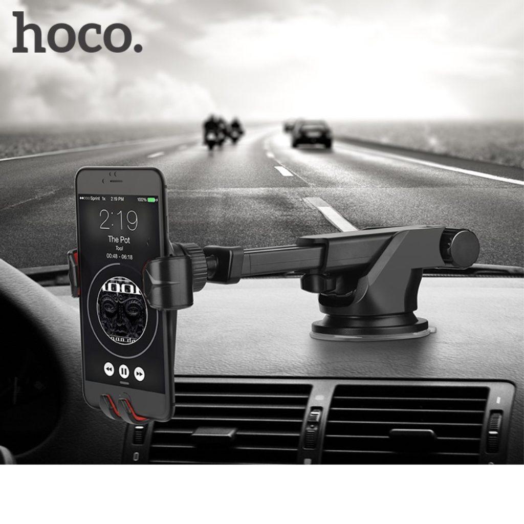 Teleskopický držák do auta na palubní desku pro mobilní telefon