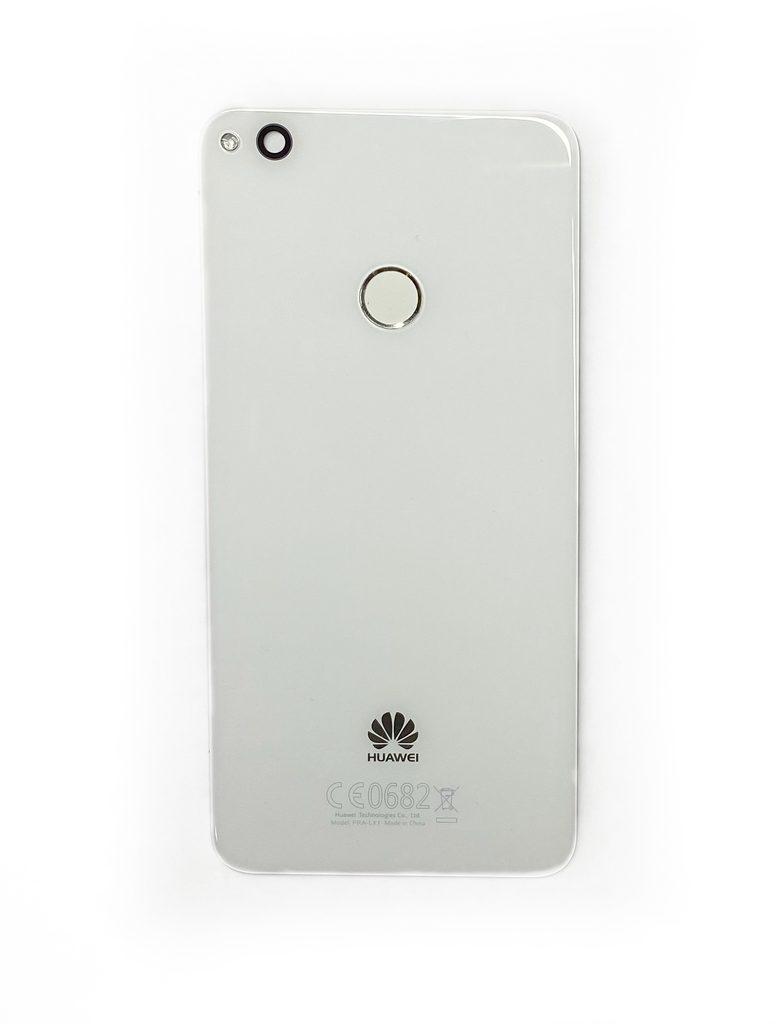 Huawei P9 Lite 2017 zadní kryt baterie originální zánovní bílý včetně senzoru otisku prstu PRA-LX1