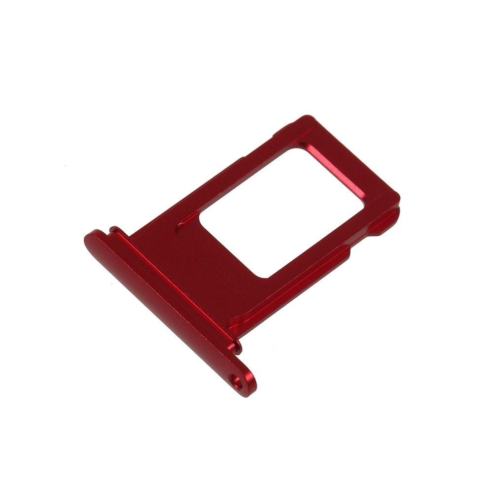 Apple iPhone XR šuplík na SIM kartu červený red product