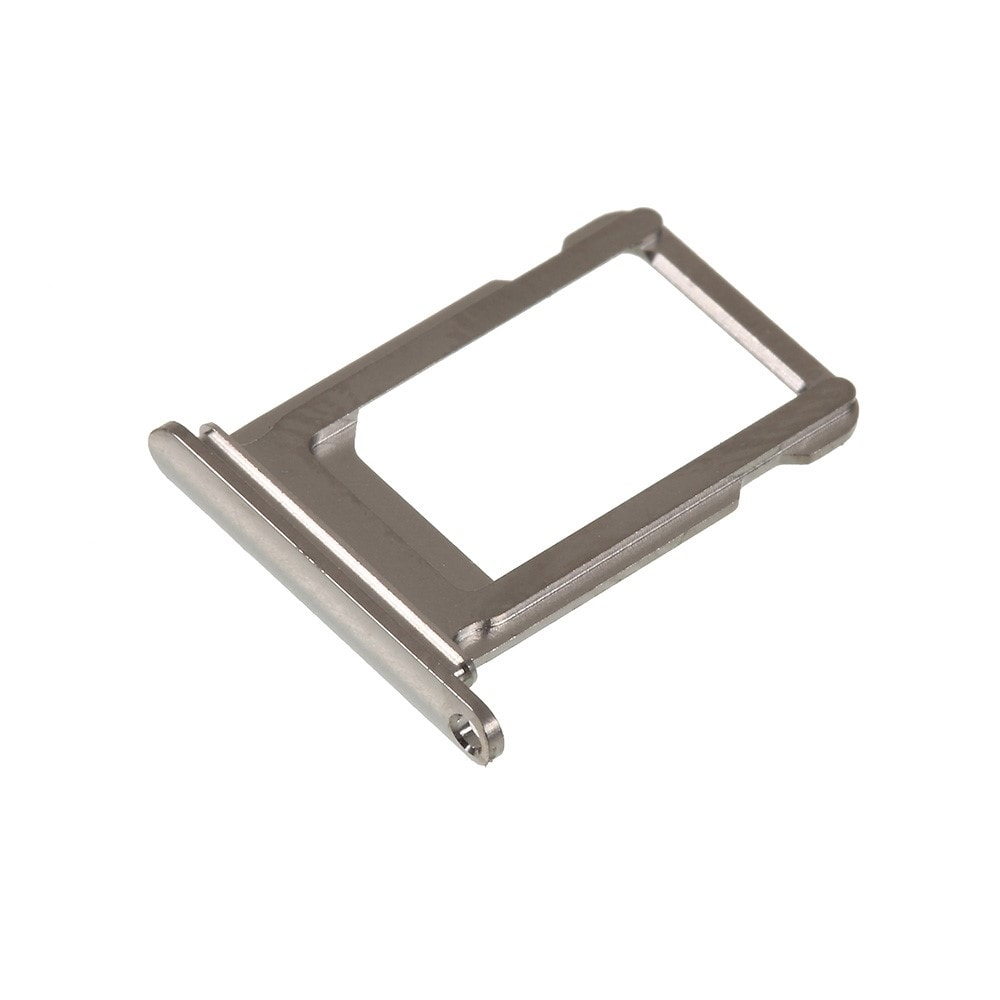 Apple iPhone XS šuplík na SIM stříbrný