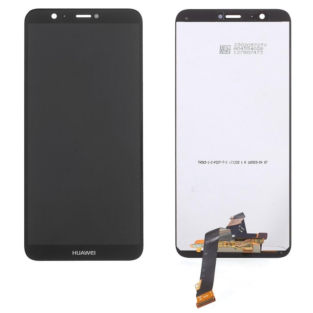 Huawei P Smart LCD displej dotykové sklo černé komplet přední panel