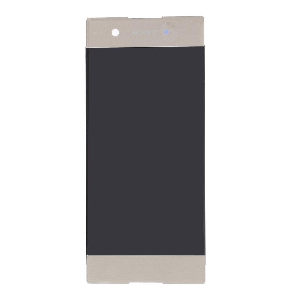 Sony Xperia XA1 LCD displej dotykové sklo zlaté komplet přední panel G3122/G3112