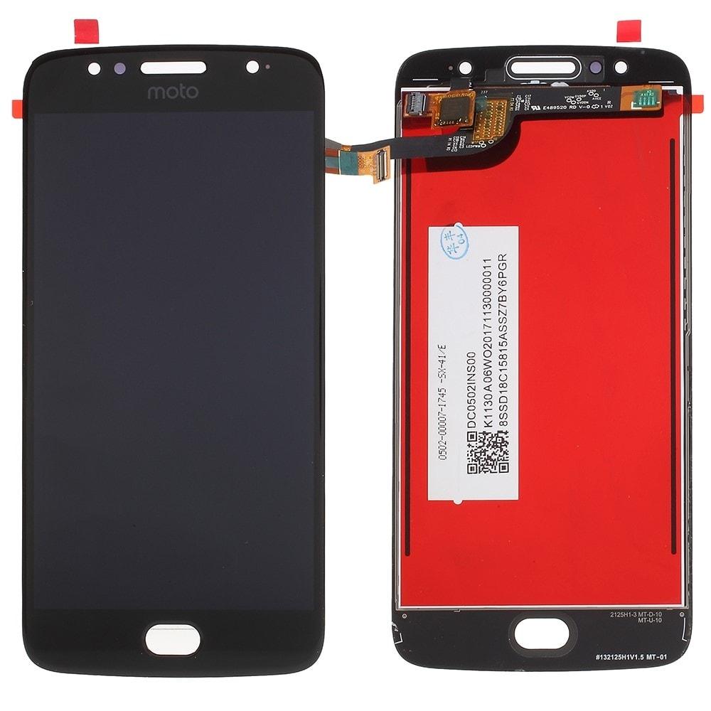 Motorola Moto G5S LCD displej dotykové sklo komplet přední panel černý