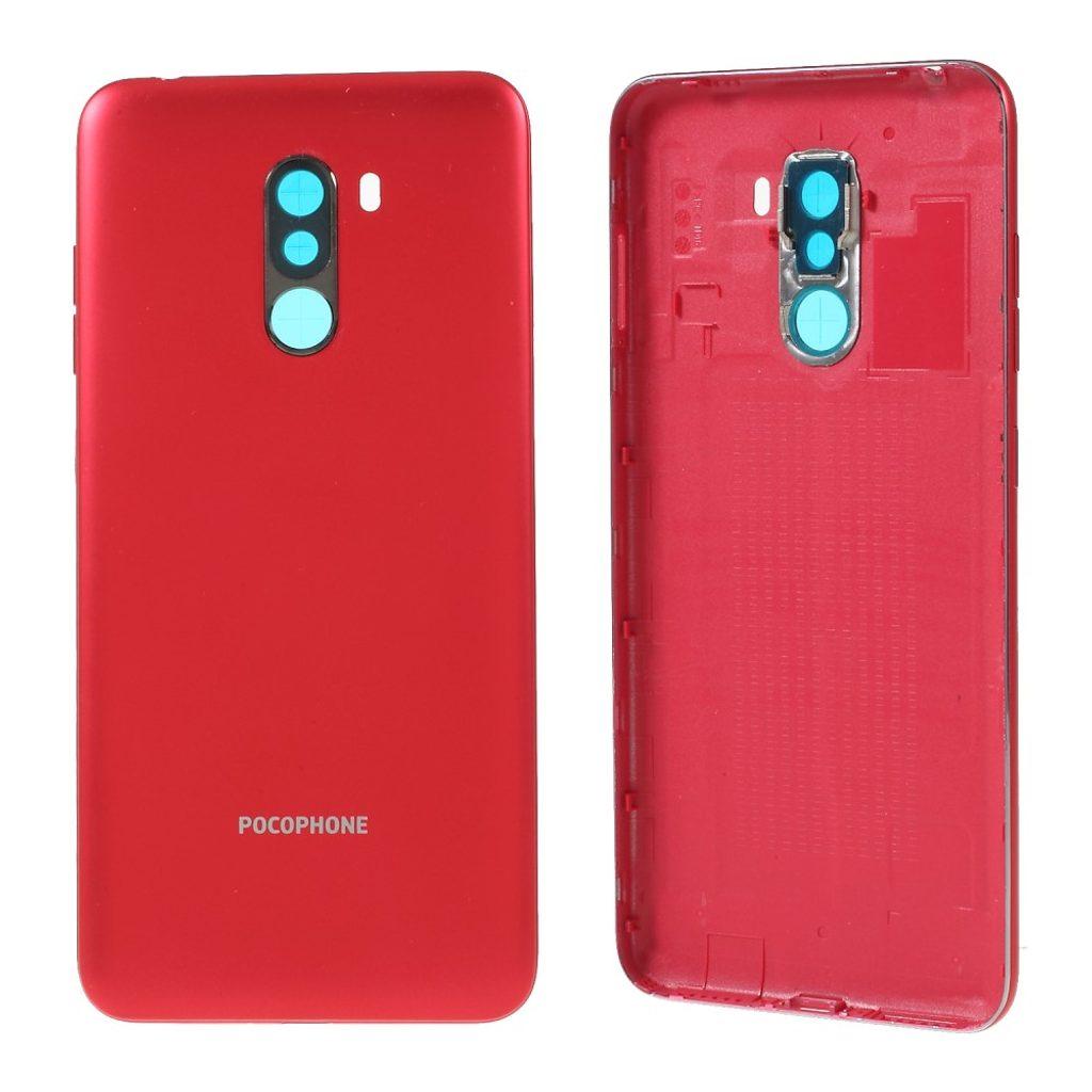 Xiaomi Pocophone F1 zadní kryt baterie červený
