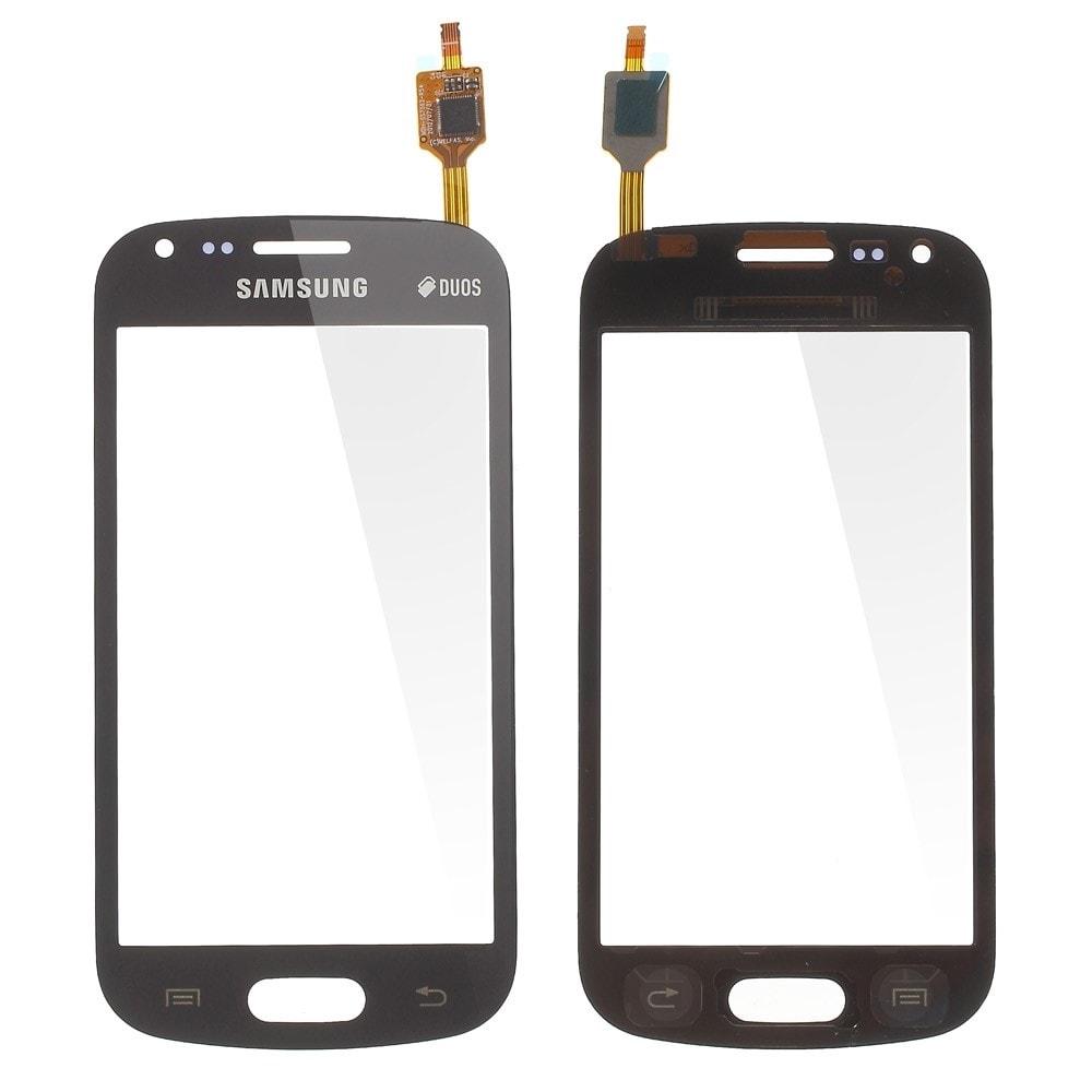 Samsung Galaxy S Duos dotykové sklo černé Trend S7562 S7560
