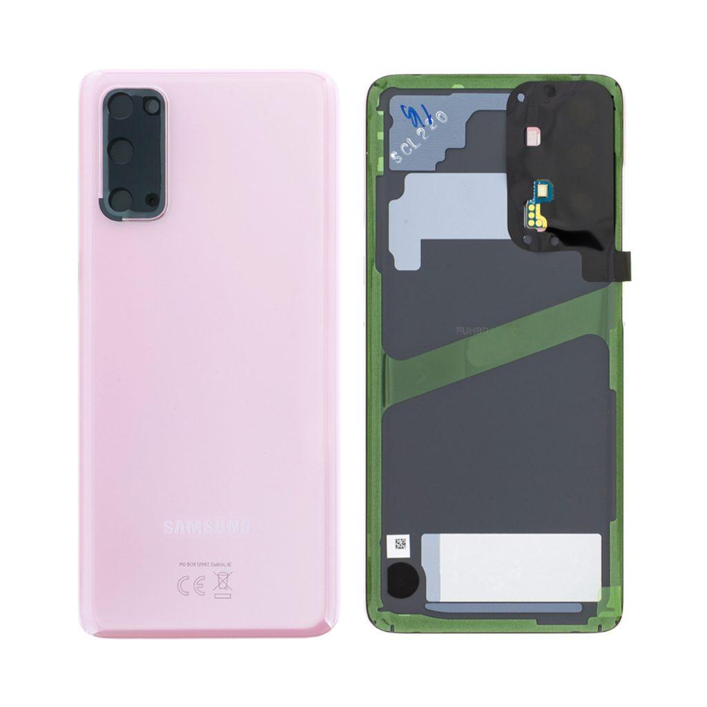 Samsung Galaxy S20 Zadní kryt baterie Cloud Pink G980 (Service Pack)