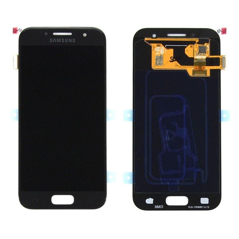 Samsung Galaxy A3 2017 LCD displej dotykové sklo černé A320F
