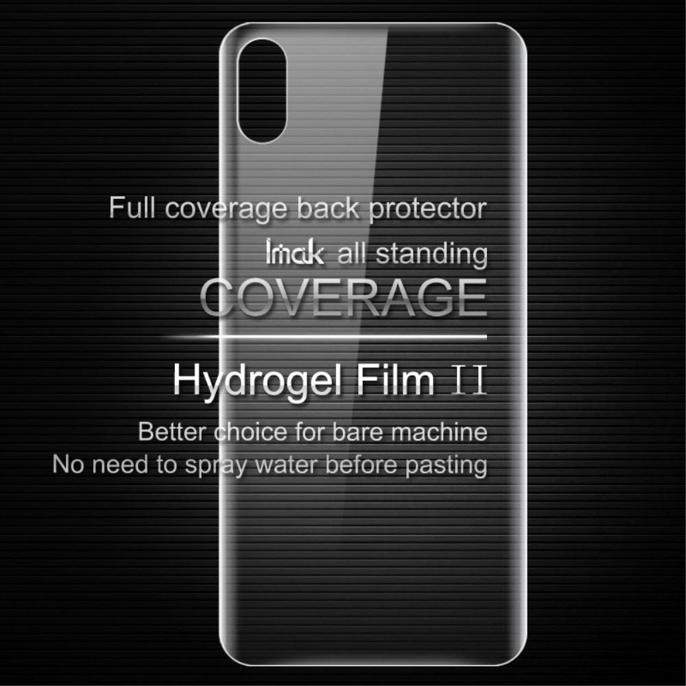 Apple iPhone X / XS Ochranná transparentní Hydrogel folie na zadní skleněný kryt