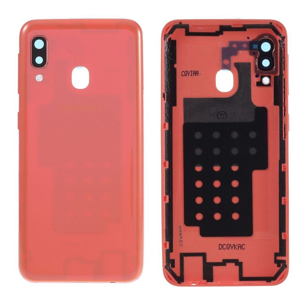 Samsung Galaxy A20e zadní kryt baterie oranžový