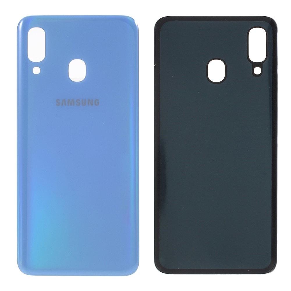 Samsung Galaxy A40 zadní kryt baterie světle modrý A405