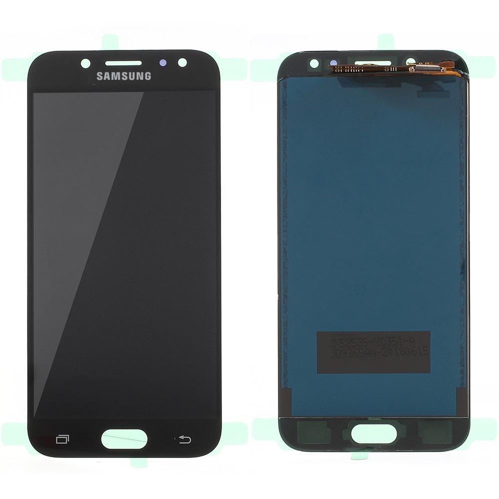 Samsung Galaxy J5 2017 LCD displej dotykové sklo komplet přední panel černé TFT J530F