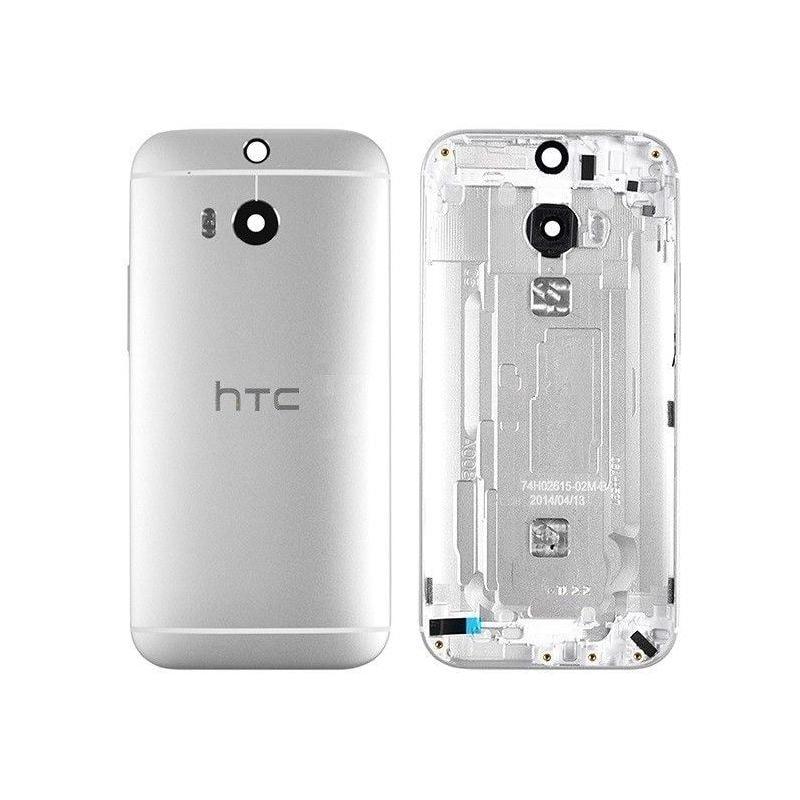 HTC One M8 zadní kryt baterie stříbrný