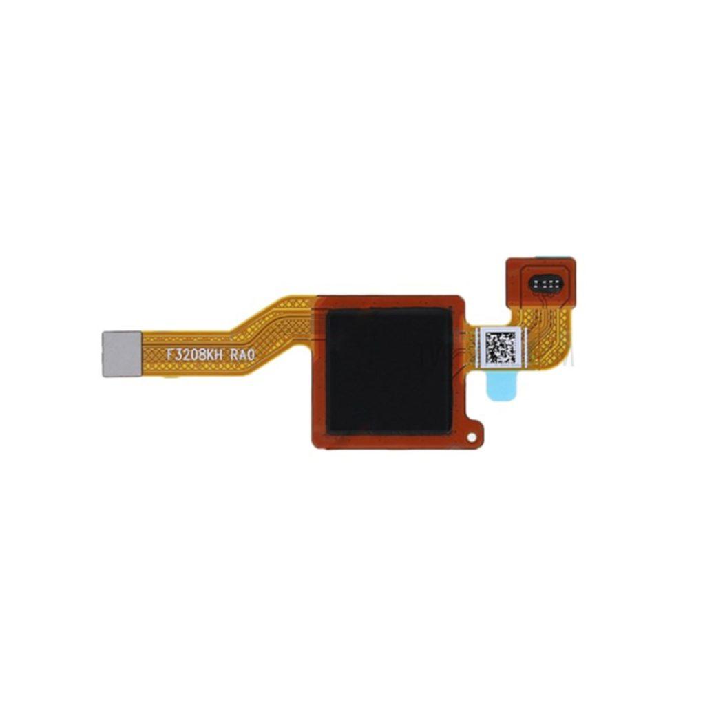 Xiaomi Redmi Note 5 čtečka otisku prstu černá originál flex kabel