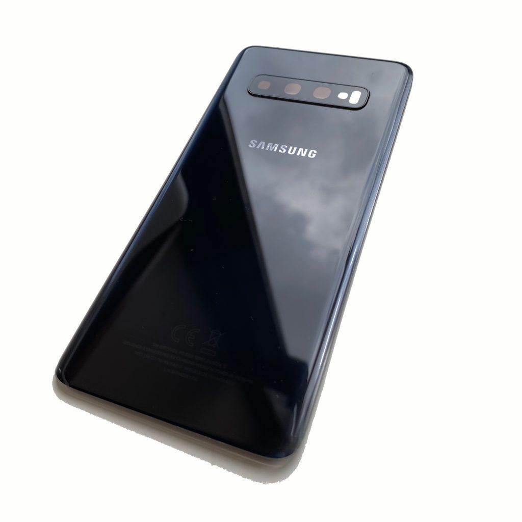 Samsung Galaxy S10 zadní kryt baterie černý originál (použitý) G973
