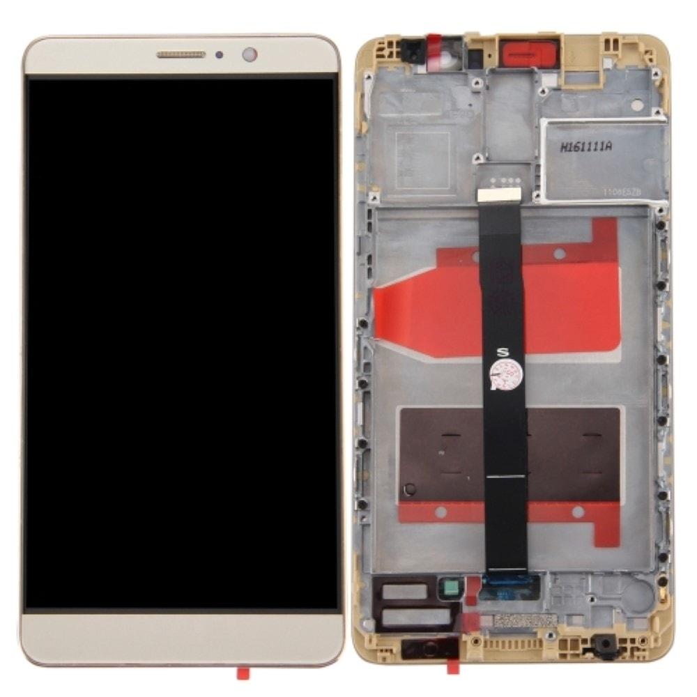 Huawei Mate 9 LCD displej dotykové sklo včetně rámečku zlatý