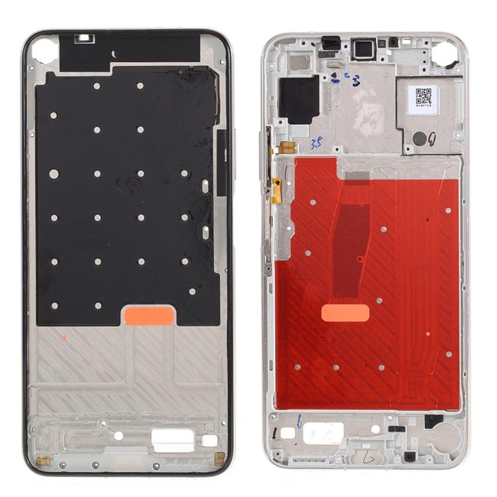 Honor 20 / Huawei Nova 5T středový rámeček střední kryt stříbrný YAL-L21