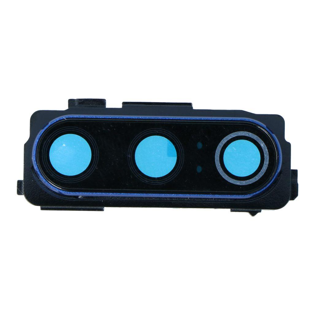 Xiaomi Mi 9 krytka čočky fotoaparátu modrá včetně rámečku sklíčka kamery