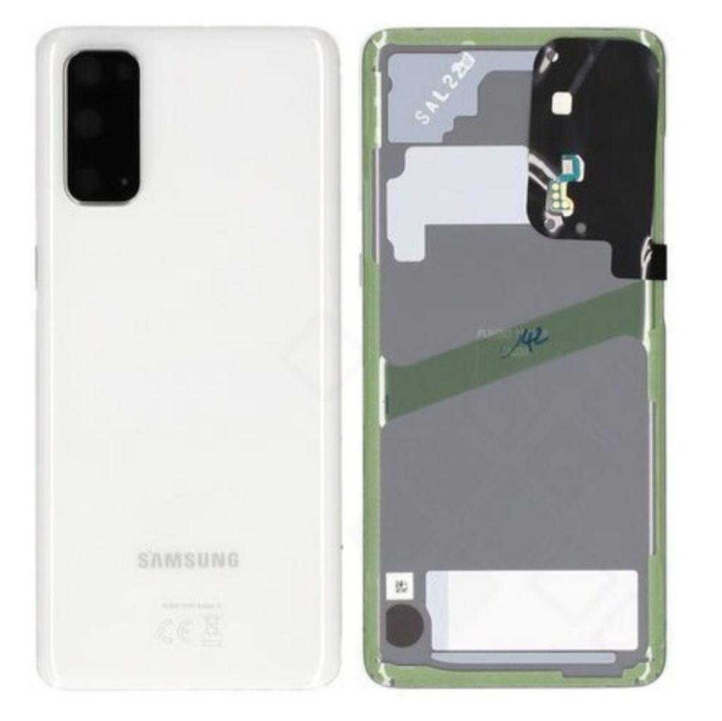 Samsung Galaxy S20 Zadní kryt baterie Cosmic White G980 (Service Pack)